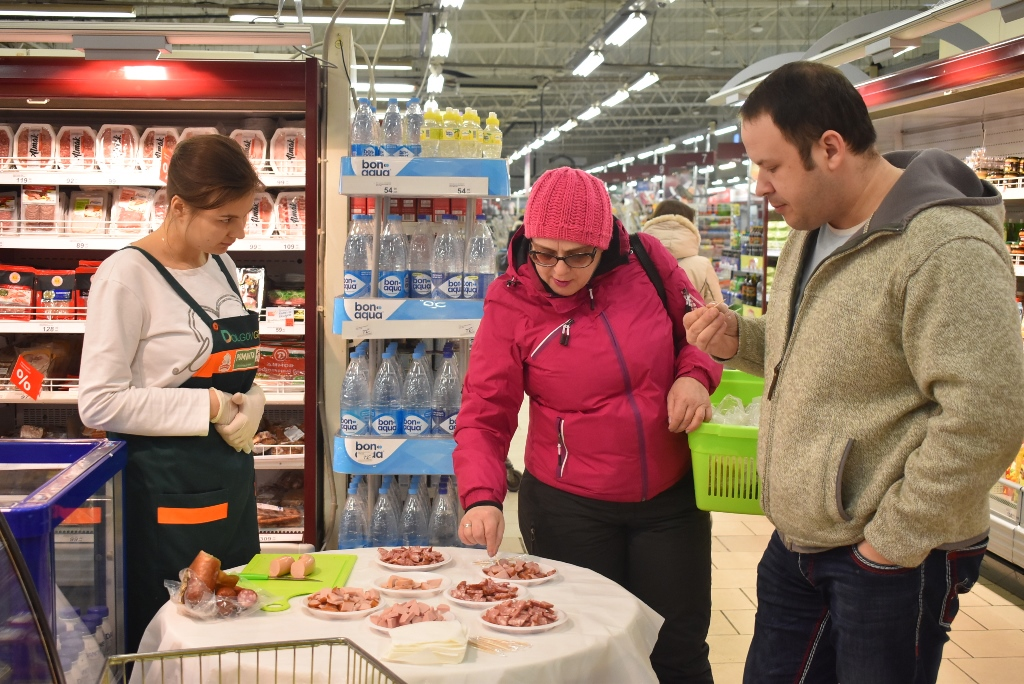 WE CONTINUE THE SERIES OF TASTING ROMINTA AND NEZHINSKAYA IN KALININGRAD SUPERMARKETS