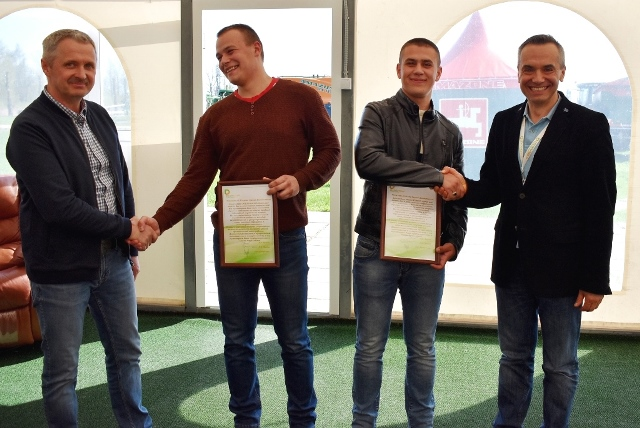 YOUNG FARM MACHINERY OPERATORS FROM OZERSK MADE A TOUR TO DOLGOVGRUPP