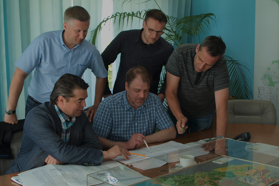 "DeLaval company representatives have visited holding company ""DolgovGroup""."