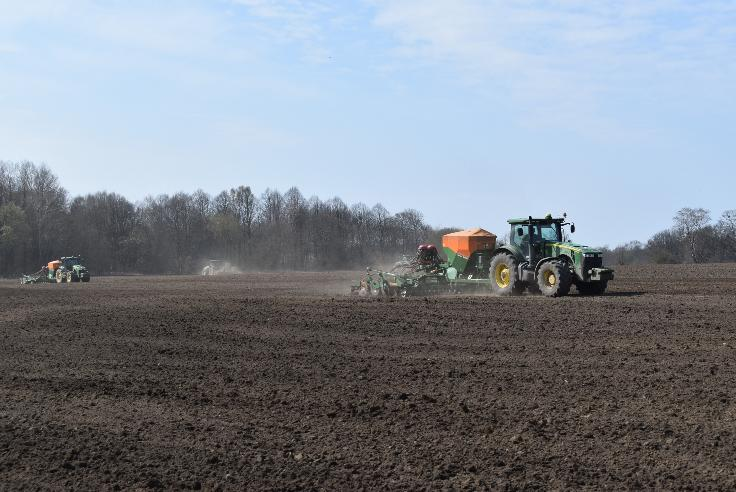 SPRING SOWING WORKS COMPLETED IN THE AGRICULTURAL GROUP DOLGOVGROUP