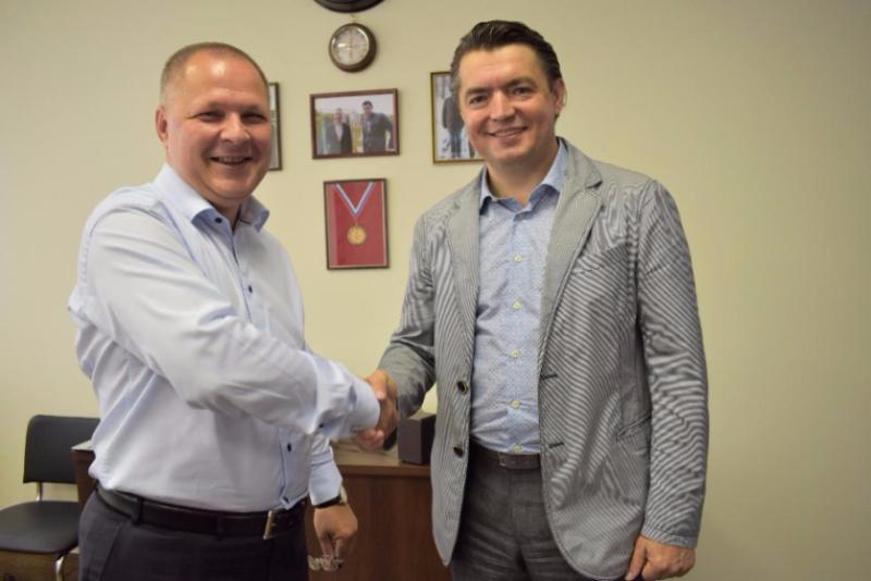 "PRESIDENT OF THE COMPANY «DELAVAL» HAD VISITED THE HOLDING COMPANY ""DOLGOVGROUP"""