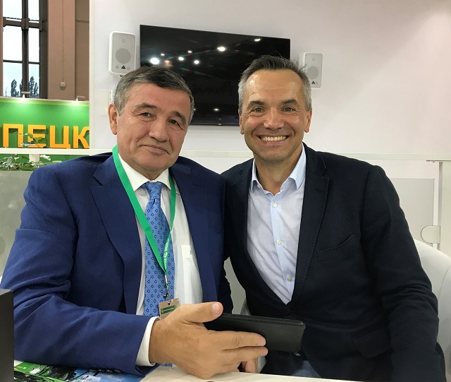 DMITRY DOLGOV VISITED THE AGRICULTURAL FAIR GOLDEN AUTUMN IN MOSCOW