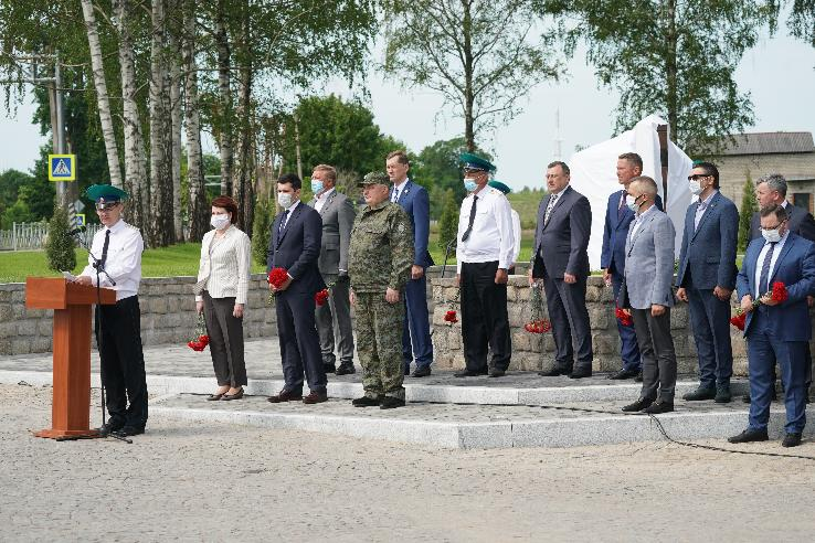 A MEMORIAL IN HONOUR OF THE BORDER GUARD HEROES OPENED