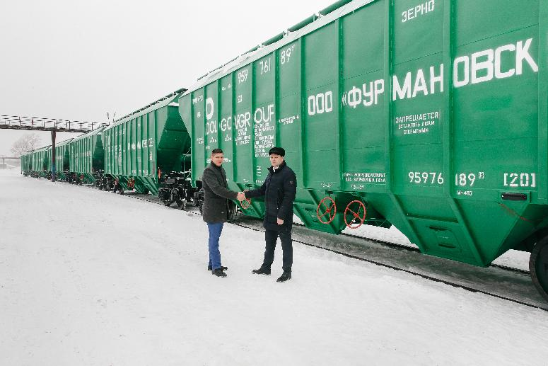 DOLGOVGROUP AGRICULTURAL HOLDING COMPANY ACQUIRED 100 NEW RAILWAY CARS FOR THE TRANSPORTATION OF GRAIN
